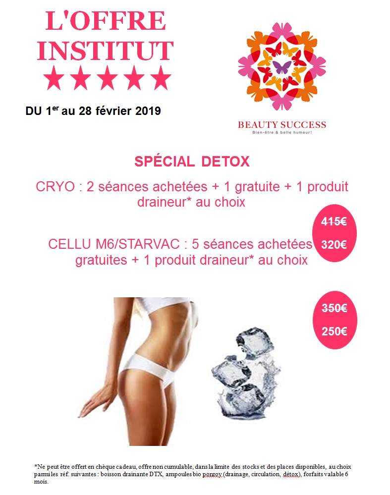 beauty success offre detox
